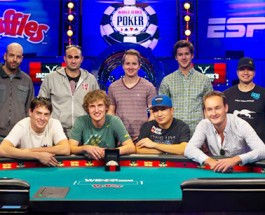 WSOP Main Event Final Table Decided