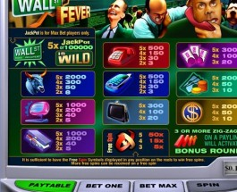 Winner Casino Wall St Fever Video Slots Jackpot Exceeds $357K