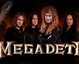 Win A Megadeth Signed Guitar at Bet-at.eu