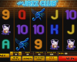 Win Jackpots at the Jazz Club