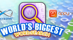 World's Biggest Wordsearch Record Breaking Attempt