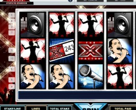 Betfair Casino's X-Factor Video Slot Offers £35K