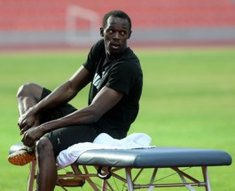 Bolt Resumes Olympic Preparation after Tight Hamstring