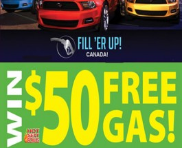 Free Gas for Canadians at Omni Casino
