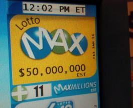 $50m Jackpot Won by Ontario Resident