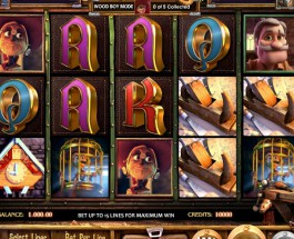 Pinocchio Slot Offers Players Three Free Spins Games and Extra Wilds