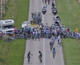 Triumphs and Tribulations Mount in Tour de France