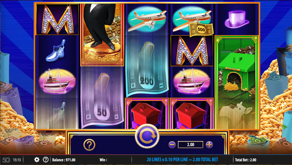 Monopoly Big Money Reel Slots Review and More
