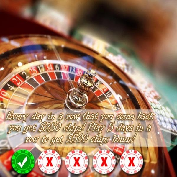 Mariknab's Roulette App Offers Free Chip Bonuses